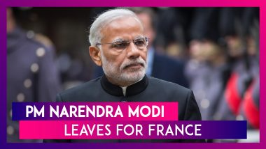 PM Narendra Modi embarks on three-nation tour to France, UAE and Bahrain
