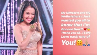 Neha Kakkar Assures Fans of Her Well Being After Penning Down Letter About 'Ending Life'!