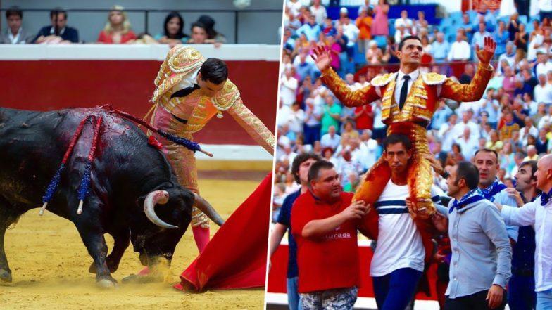 Champion Spanish Bullfighter, Paco Urena Had His Penis Crushed by the Bull at Semana Grande Big Week Fair in Bilbao (Watch Video)