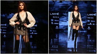 LFW Winter/Festive 2019: Tara Sutaria is a Charming Showstopper for Ritu Kumar at Lakme Fashion Week (View Pics)