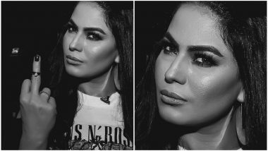 Veena Malik's Distasteful Tweet with a Picture against the Indian Army Enrages Twitterati