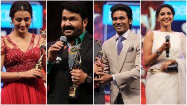 SIIMA 2019 Winners: Trisha Krishnan, Mohanlal, Dhanush, Aishwarya Lekshmi Bag the Prestigious Trophy (View Pics)