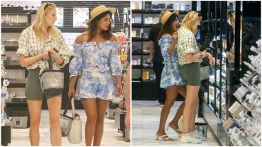 Pretty Sisters-in-Law, Priyanka Chopra Jonas and Sophie Turner, Go Shopping in Style! View Pics