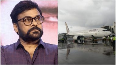 Exclusive! Telugu Superstar Chiranjeevi Among the Inconvenienced Passengers After Hyderabad-Bound Air Vistara Flight Suffers Technical Issues Mid-Air - View Pics