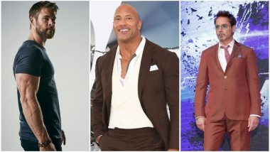 Forbes Highest-Paid Actors 2019: Dwayne 'The Rock' Johnson Beats Chris Hemsworth and Robert Downey Jr to Secure the Number One Position