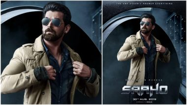 Saaho New Poster Out: Neil Nitin Mukesh's Intriguing Look Adds to the Mystery of Prabhas' Sci-Fi Film (View Pic)