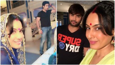 Shakti Astitva Ke Ehsaas Ki: Kamya Punjabi Shares a Goodbye Message for Vivian Dsena as He Shoots His Last Schedule (View Pics)