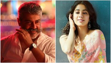 Janhvi Kapoor to Make Her Kollywood Debut with Thala Ajith's AK60?