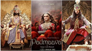 National Film Awards 2019: Deepika Padukone, Ranveer Singh and Shahid Kapoor's Historical Drama Receives Accolades for Best Choreography, Music Director and Male Playback Singer