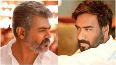 Ajay Devgn to Play the Role of a Villain in Thala Ajith's AK60?