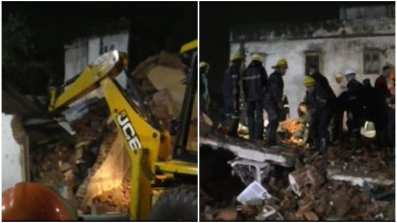 Gujarat: 4 Dead, Several Feared Trapped After 3-Storey Building Collapses in Pragatinagar