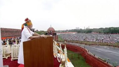 PM Modi Address to Nation on Independence Day 2019 From Red Fort: Make 'Digital Payment Ko Haan, Nakad Ko Na' Motto, Says Narendra Modi