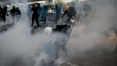 Hong Kong Protests: Police Use Water Cannon for First Time as Agitation Enters 12th Consecutive Weekend