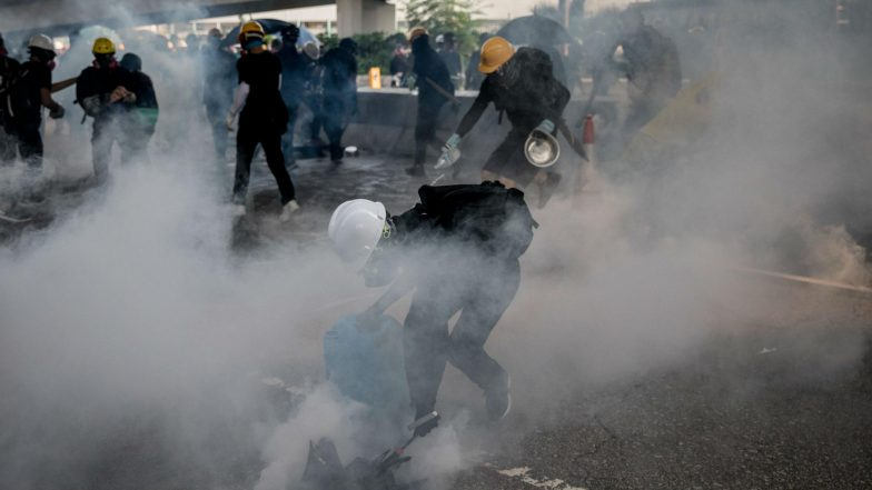 Hong Kong Protests: Police Fire Tear Gas as Clashes Return to City Streets
