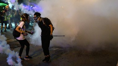 Hong Kong Protests: Police Fire Tear Gas at Protesters in Tourist District