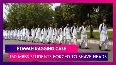 Etawah Ragging Case: 150 First-Year MBBS Students Of Saifai Medical College Forced To Shave Heads