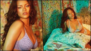 Yo or Hell No! How Does Rihanna's Sheer Lavender Lingerie From Savage X Fenty Fare on Your Hot-or-Not Meter?
