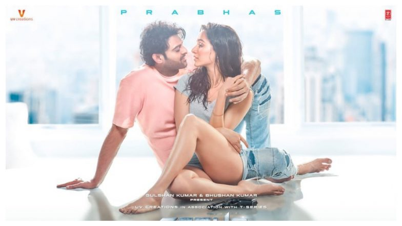 Saaho New Poster: Shraddha Kapoor and Prabhas Get Cosy and Romantic in This Pic
