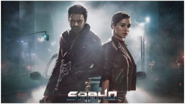 Saaho: Prabhas and Shraddha Kapoor Look Deadly on the New Poster Announcing the Pre-release Event