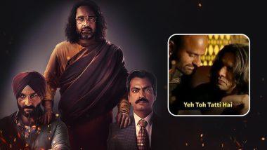 Sacred Games Season 2 Memes: Netizens Unhappy With the Saif Ali Khan, Nawazuddin Siddiqui's Netflix Show, Flood Twitter With Funny Jokes