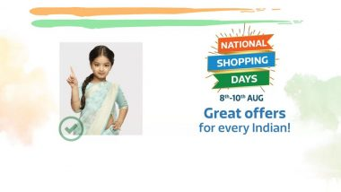 Flipkart National Shopping Days Sale 2019 Starts From August 8; Huge Discounts & Offers on Mobile Phones Ahead of Indian Independence Day