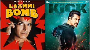 CONFIRMED: Salman Khan VS Akshay Kumar Clash on Eid 2020 Is On Again! Kick 2 and Laxxmi Bomb to Release on the Same Day