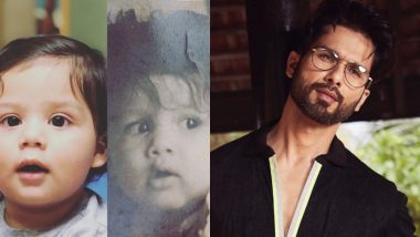 Shahid Kapoor Posts an Adorable Collage of His Son Zain Kapoor and We Have Been Staring at It for a Million Years
