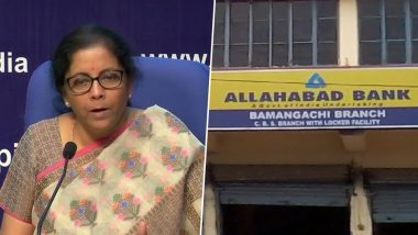 PNB-OBC-United Bank to Become One Entity; Canara-Syndicate, Indian Bank-Allahabad Bank, UBI-Andhra-Corporation Bank to Merge, Announces FM Nirmala Sitharaman