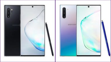 Samsung Galaxy Note 10+ Vs Samsung Galaxy Note 10: Prices, Features, Pre-Orders & Specification - Comparison