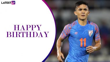 Sunil Chhetri Birthday Special: Lesser Known Things About Indian Football Captain Who Is The Son of an Army Dad And a Footballer Mom