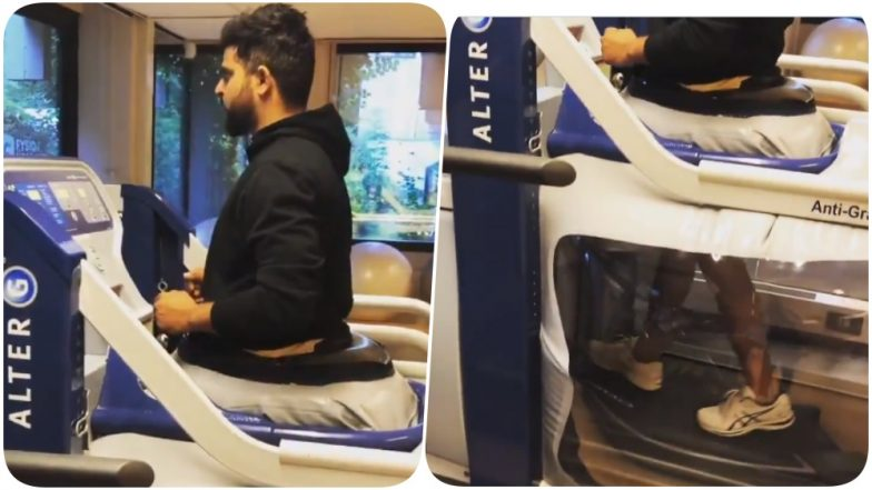 Suresh Raina Hits the Gym Post Knee Surgery; Shares An Inspirational Post on Instagram (Watch Video)