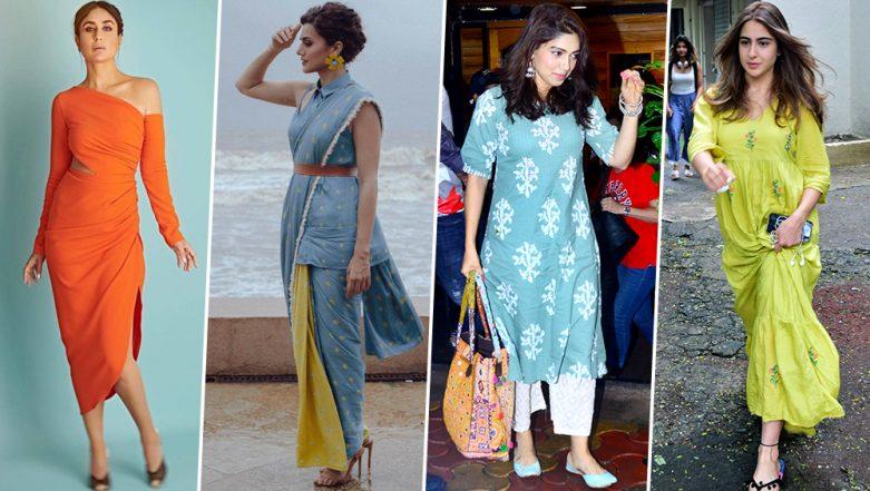 Kareena Kapoor Khan, Taapsee Pannu and Sara Ali Khan - Let's Cheer for our Best-Dressed Celebs this Week (View Pics)