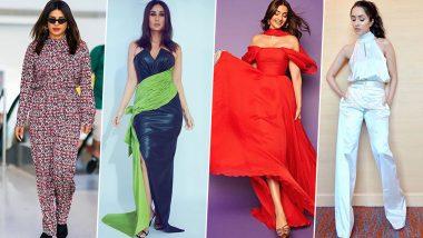 Kareena Kapoor Khan, Priyanka Chopra and Sonam Kapoor: When Bollywood's Fashionistas Came Together to Give us a Delightful Week (View Pics)