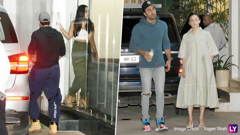 Alia Bhatt and Ranbir Kapoor Enjoy a Movie Date With Varun Dhawan and Natasha Dalal  - See Pics