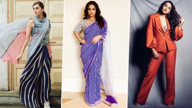 Taapsee Pannu, Vidya Balan and Sonakshi Sinha's Style File for Mission Mangal was Simple, Distinctly Different and Charming - View Pics