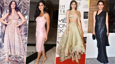 Katrina Kaif, Shraddha Kapoor and Karisma Kapoor's Fashion Outings Leave a Lasting Impression on Our Minds (View Pics)