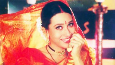 Karisma Kapoor Shares a Throwback Pic From Biwi No 1, Expressing Her Love for Saree on National Handloom Day