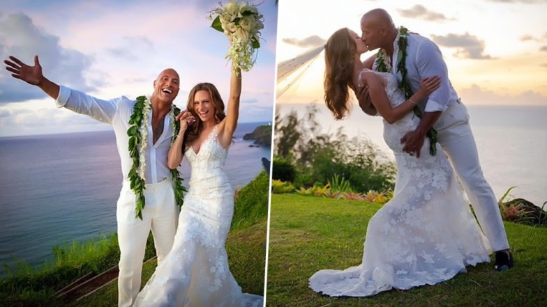 Dwayne Johnson Marries Longtime Girlfriend Lauren Hashian in a Beautiful Ceremony in Hawaii - See Pictures