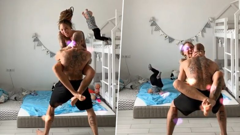 Toddler Jumps off a Bunk Bed Imitating His Mother, Netizens Slam Parent's Negligence As Video Goes Viral