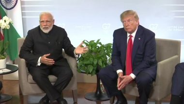 Donald Trump Meets PM Modi at G7 Summit, Backs Off From 'Kashmir Mediation' Offer, Says All India-Pakistan Issues 'Bilateral'