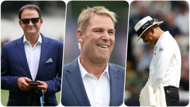 Shane Warne, Mark Waugh, Aakash Chopra Fuming About the Umpiring Standards During Ashes 2019 Day 1