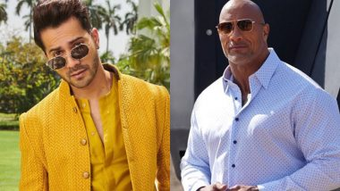 Dwayne Johnson Calls Varun Dhawan 'Best' and All The Rock Fans Might Feel Jealous