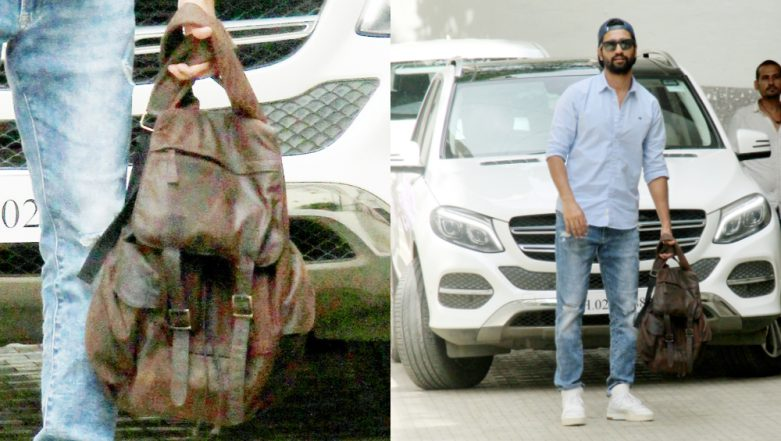 Move over 'Mature Bag', Vicky Kaushal's Sexy Backpack Is How to Keep It Stylish (See Pics)
