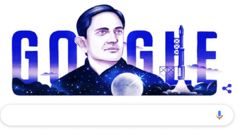Vikram Sarabhai 100th Birth Anniversary: Google Honours Father of India's Space Programme With Doodle