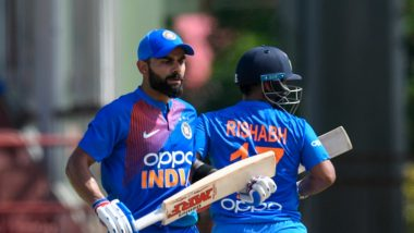 India vs West Indies, 3rd T20I 2019: Men in Blue Beat Windes by Seven Wickets, Netizens Hail Rishabh Pant & Virat Kohli for their Half-Centuries
