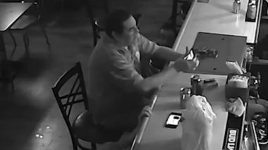 This Man Has Zero F**ks to Give to Armed Robbers! Watch Chilling Moment From St. Louis Bar Robbery As Their 'Encounter' Video Goes Viral