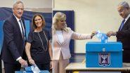 Israel Election Exit Poll Results 2019: Benny Gantz To Win 32–34 Seats, While Benjamin Netanyahu to Win 31–33 Seats; Avigdor Lieberman May End Up Kingmaker