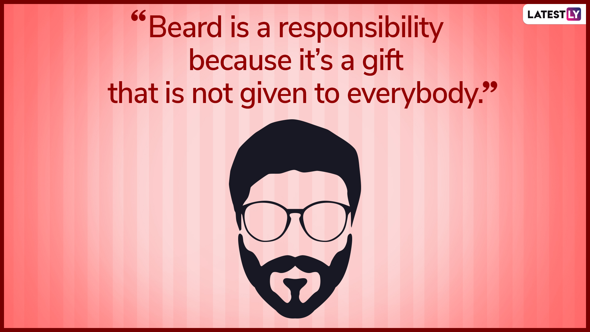 World Beard Day 2019 Quotes & Images: WhatsApp Messages ...