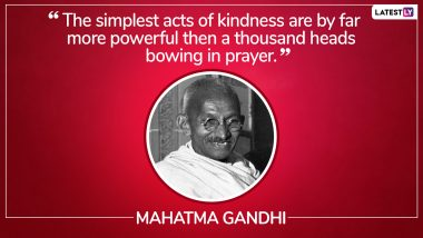 International Day of Charity 2019: Inspiring Philanthropic Quotes to Motivate You to Give Back to the Society