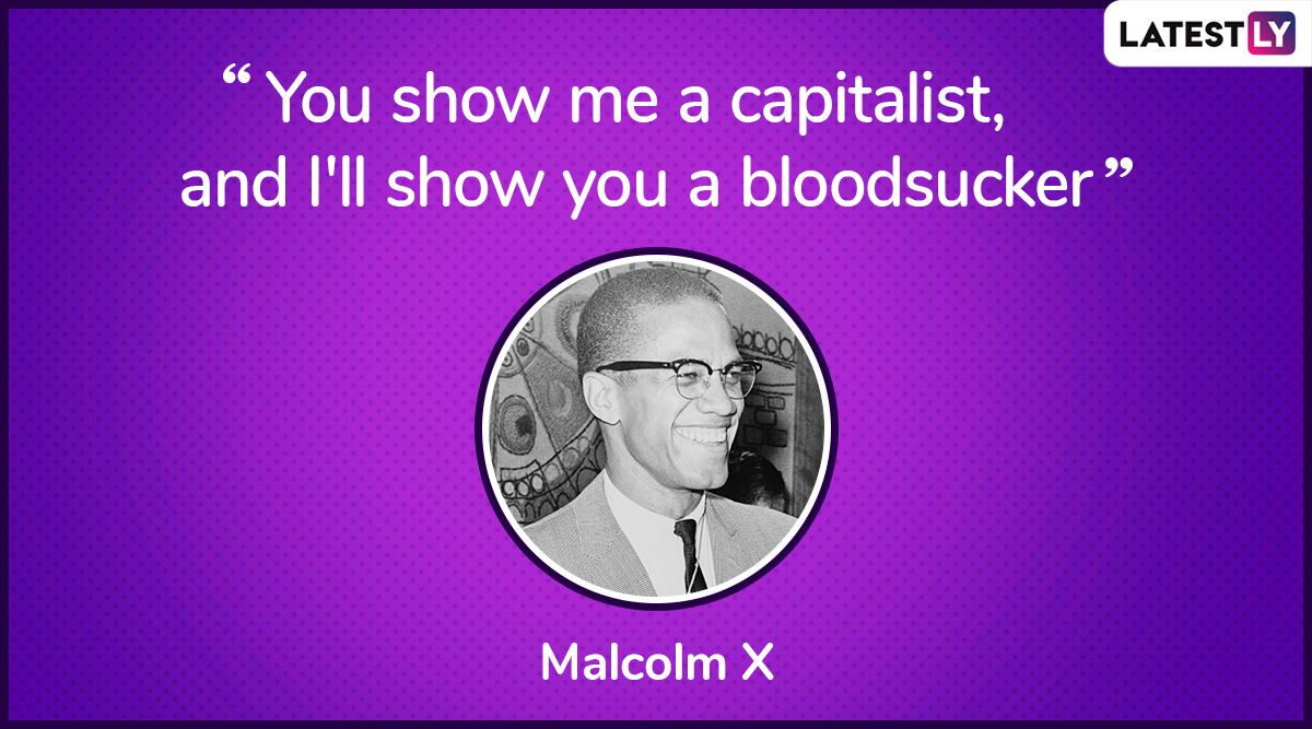 The quote by Malcolm X on democracy. (Photo Credit: File Image)